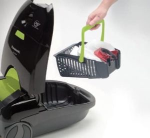panasonic optiflow mc-cg917 canister vacuum cleaner